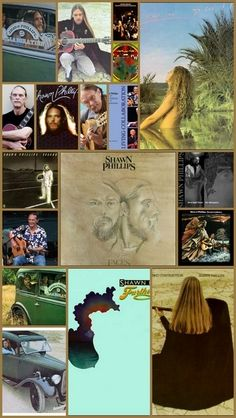 Another Collage of Shawn Phillips album covers