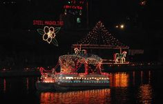 Holiday Trail of Lights in Louisiana  - learn about the events and more~  #onlylouisiana