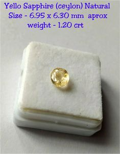 Excited to share the latest addition to my #etsy shop: 6.95 x 6.30 mm yellow Sapphire Natural ( Ceylon ) fected cutstone /genuine yellow Sapphire loose gemstone/precious gemstones,Cut stonee http://etsy.me/2CJZGhd #supplies #yellow #sapphire #naturalsapphire #gemstone