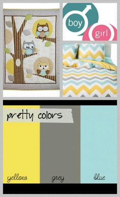 The best neutral colors for nusery/ toddler room!!! My kids will have to share a room!!! This wotks perfect since I have a toddler boy and a baby girl