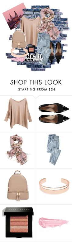 """London Bridge Is Falling Down, Falling Down, Falling Down.."" by lolisweet26 ❤ liked on Polyvore featuring Wrap, MICHAEL Michael Kors, Leith, Bobbi Brown Cosmetics and By Terry"