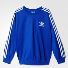 Discover our extended adidas clothing collection for women. Your favourite clothing items available in a wide range of styles and colours on adidas. Sweatpants Outfit, Adidas Outfit, Mode Adidas, Adidas Men, Nasa Clothes, Mens Sweatshirts, Hoodies, Adidas Hoodie, Vintage Adidas