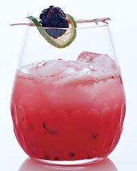 Agave Negro: blackberries, lime, tequila, lime juice, simple syrup, chambord, club soda