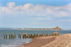 Remains of the Salt Works Pier, South Walney