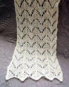 Une écharpe au point dentelle   crochet   Crochet, Tricot et Knitting 452af7784d6