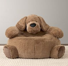 Pin for Later: The Best Gifts For Kids Under 10 Years Old For Infants: Cuddle Plush Dog Chair