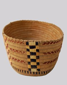 Native American Indian Basket North West Coast Tribe