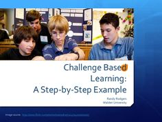 challenge-based-learning-stepbystep by Randy Rodgers via Slideshare