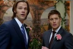 The Ultimate Movie and TV Weddings Gallery I love the fact that I pulled this up in plain curiosity of what was on it and was honestly not expecting this!😂 Way to go Supernatural! Gotta love the fandom