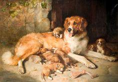 Black Country Museum posters, canvas prints, postcards & framed prints available to buy online. Illustrations, Illustration Art, Dog Artwork, Dog Paintings, Art Uk, Buy Prints, Dog Behavior, Dog Portraits, Vintage Art