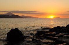 La belleza de las playas de Villajoyosa (Alicante) en todo su esplendor