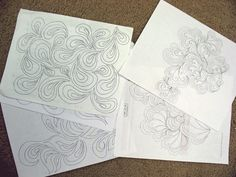 Patsy Thompson's drawings for FMQ