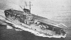 Béarn underway, 1937