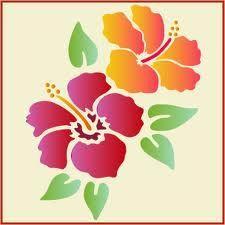 flower stencils - Google Search