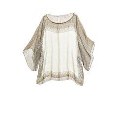 Priu Block Printed Silk Top | Calypso St. Barth