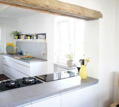 Durchreiche Küche Wohnzimmer Zum Wunderbar Garten Stil - Breydy.org
