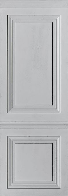 """Panbeton® Made in Haussmann by matali Crasset // """"This modern mix mocks the codes of interior design and integrates French bourgeois mouldings and decor into the modernity of concrete, creating a kind of absorption of decorative codes into a contemporary language:  A decorative oxymoron. // Photo credits : Maxime Leyvaste. Wall Cladding, Concrete Wall, Contemporary, Modern, Surface, Layout, Moulding, Interior Design, Architecture"""