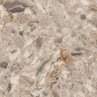 Chakra Beige Quartz weaves together warm creams and beiges with cool grays that are highlighted by warm rust accents for a look that mimics granite. Cleaning Granite Counters, Stone Countertops, Kitchen Countertops, Kitchen Cabinets, Beige Bathroom, Bathroom Colors, Kitchen Colors, Kitchen Ideas, Color Quartz