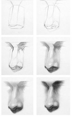 The most recent Pic nose Drawing Tips, Many Disney movies take place at times . Anatomy Sketches, Anatomy Drawing, Anatomy Art, Pencil Art Drawings, Art Drawings Sketches, Easy Drawings, Easy Realistic Drawings, Drawing Skills, Drawing Techniques