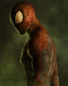 """609 Likes, 11 Comments - Adnan Ali (@addu_art) on Instagram: """"Spiderman: Not home yet  Painted in photoshop. #marvel #comic #movies #fictional #superhero…"""""""
