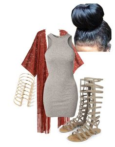 Untitled #238 by kamikupkake on Polyvore featuring polyvore, fashion, style, NLY Trend, H&M, Boohoo and Forever 21