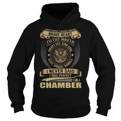 CHAMBER T-Shirts, Hoodies. ADD TO CART ==► https://www.sunfrog.com/Names/CHAMBER-Last-Name-Surname-T-Shirt-Black-Hoodie.html?id=41382