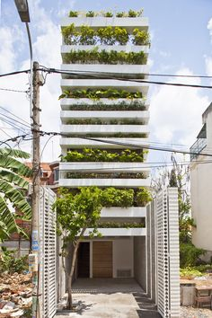 ARQA - Stacking Green House, in Vietnam