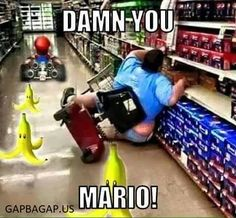 Funny Joke About Mario