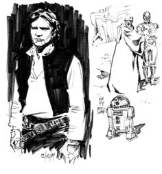 'Star Wars' illustration by Stuart Immonen