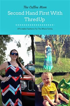 Sustainable fashions at an amazing price with Thredup.com #frugalliving #secondhandfirst #cheapfashions #secondhandclothes #thrifting #thriftingtips #upcycleclothes #recycleclothes #sustainableclothes #sustainableshopping #cheapkidsclothes