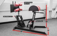 The Monster Swing Arm GHD includes oversized pads, step-up decks, and fully adjustable rear foot-rest. Get the baddest GHD on the market, only at Rogue. Gym Equipment Names, Best Gym Equipment, Crossfit Equipment, Training Equipment, No Equipment Workout, Judo, Glute Strengthening, T Bar Row, Back Extensions