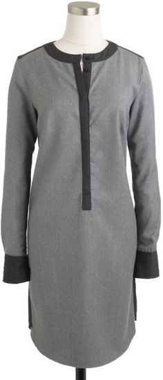Love this: Collection Wool Flannel Shirtdress @Lyst