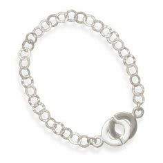 "7.5"" Textured Link Bracelet-1 Jewelry Dreamer. $45.13. Save 40% Off!"