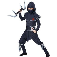 [HALLOWEEN] Ninja Warrior Kids Costume, Child Small (6-8) - $20.21 with FREE SHIPING WORLDWIDE! 2 DAYS for ALL USA DELIVERY!!! visit our site ->>> http://HALLOWEEN-CLOTHES.CF