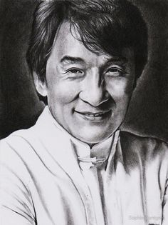 """""""Jackie Chan"""" by Sophie Corrigan 