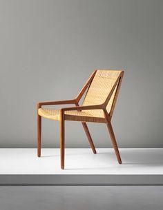 PHILLIPS : UK050414, Ejner Larsen and Aksel Bender Madsen, Easy chair, circa 1951