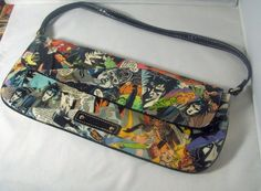 ❧• Sandman #Upcycled #Comics #Handbag Purse by CurbedEarth #handcrafted http://etsy.me/2raprks