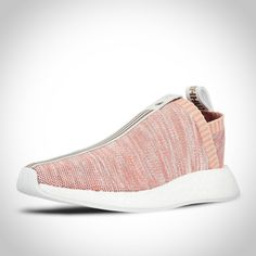 BY2596 - Adidas NMD CS2 PK Primeknit X KITH X Naked Rose Blanche Noir Rouge  Femme Homme Chaussure Achats Bon Marché 034daa6ab264
