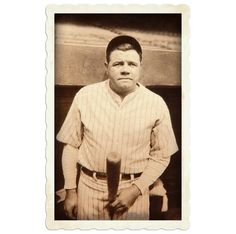 Babe Ruth is up and excited for a great day of baseball