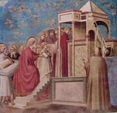 La presentazione di Maria al tempio è un affresco da Giotto tra il 1304 e il 1306 e si trova nella cappella degli Scrovegni di Padova.