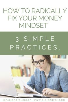 There is something about spending, saving and pricing that freeze you every time you think about it. Discover how to know if you have a broken Money mindset and 3 simple Practices to fix it.