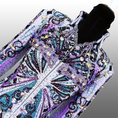 Because the Night  Rail jacket, custom made for Meredith Nelson Landy This would make a stunning solo dress.