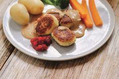 Vegisterkaker Norwegian Food, Norwegian Recipes, Pretzel Bites, Dinner Recipes, Eggs, Vegetarian, Vegetables, Breakfast, Vegans