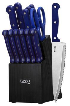 Ginsu Essential Series 14 Piece Knife Block Set