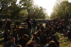 Freitag, 01.05., 17:00 Uhr – Kreuzberg, Görlitzer Bahnhof: Myfest. © Eva Kejíková