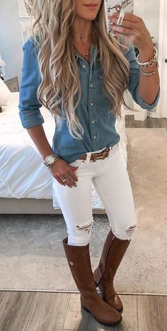 Amazing Casual Fall Outfits It is important for you to Cop This Weekend. casual fall outfits for women over 40 Fall Outfits 2018, Mode Outfits, Fall Winter Outfits, Country Winter Outfits, Ladies Outfits, Winter Wear, Casual Summer Outfits Women, Cute Outfits For Fall, Country Fall Fashion