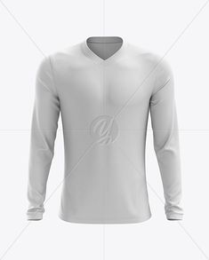 Men's Soccer V-Neck Jersey LS mockup (Front View). Present your design on this mockup. Simple to change the color of different parts and add your design. Includes special layers and smart objects for your creative works. Basketball Kit, Soccer, Volleyball Outfits, Shirt Mockup, Summer Tshirts, Stretch Fabric, V Neck T Shirt, 3 D, Apparel Clothing