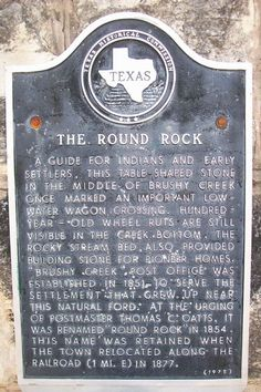 Round Rock, Texas is a town steeped in history!