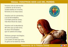 MISIONEROS DE LA PALABRA DIVINA: HIMNO LAUDES - VOSOTROS SOIS LUZ DEL MUNDO