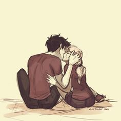 New Percabeth drawing by Viria...!!!